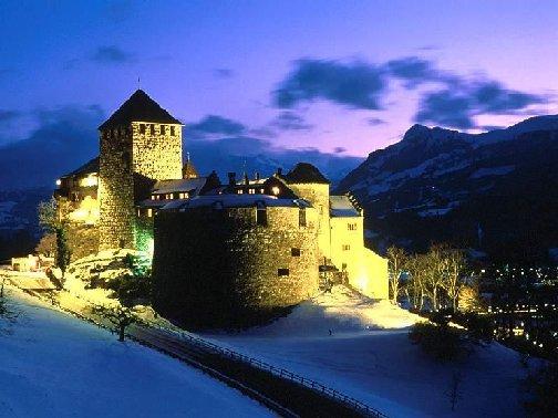Княжеский замок в вадуце